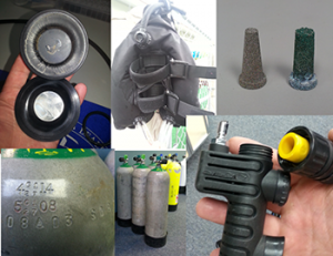 Image of Five Different Scuba Gear Repair Services Offered by Adventure Outfitters