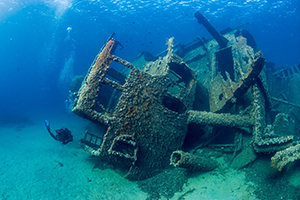 Image of Sunken Wreck - South Tampa Dive Shop - Adventure Outfitters