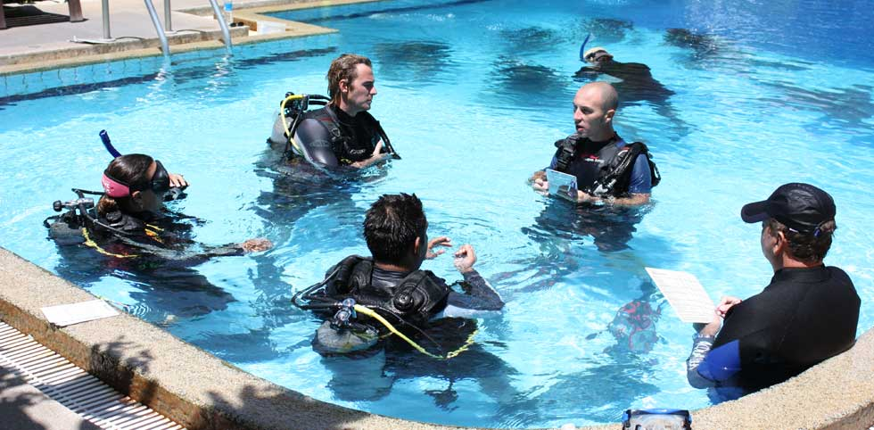 padi tampa florida instructor course idc development dive scuba outfitters adventure