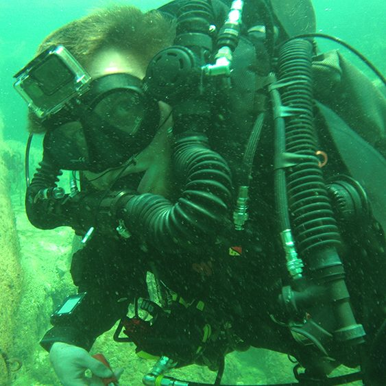 Alex Blevins is a South Tampa Scuba Diving Instructor at Adventure Outfitters Dive Center
