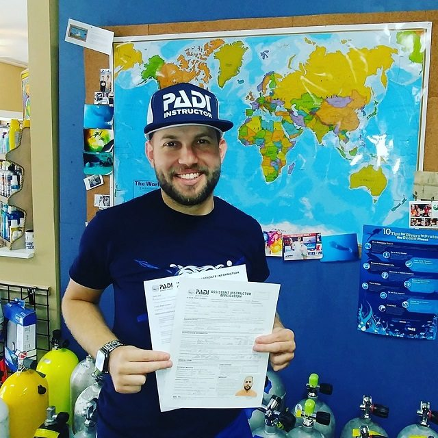 South Tampa Scuba Instructor Carlos Colon - Adventure Outfitters Dive Center